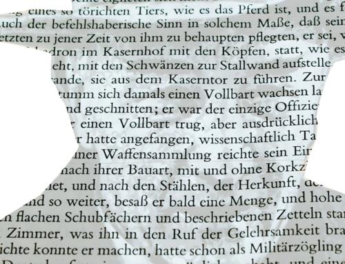 General Stumm von Bordwehr, Taschenmessersammler