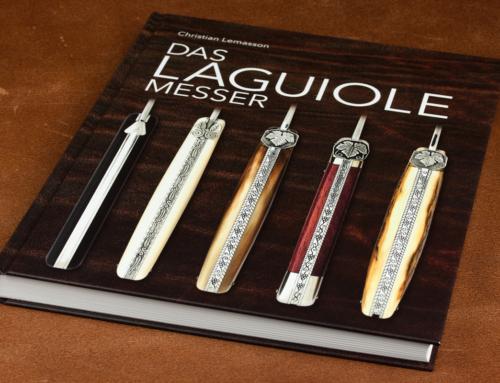 Endlich in deutscher Übersetzung verfügbar: Christian Lemassons Standardwerk zum Laguiole-Messer