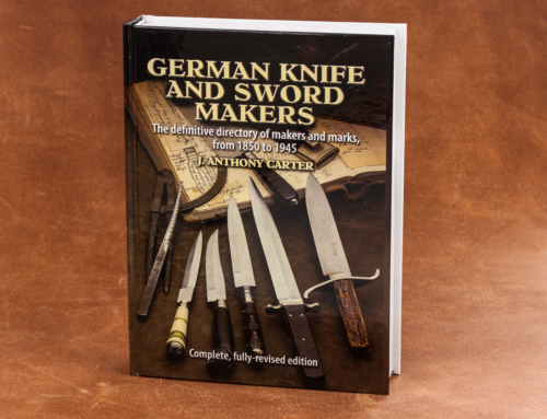 "Das Solingen-Kompendium: Anthony Carters ""German Knife and Sword Makers"" als überarbeitete Neuausgabe in einem Band erschienen"